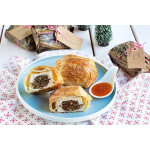 Tofu Pastry With Mixed Mushrooms