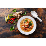 Tom Yum Kung: Spicy And Sour Shrimp Soup