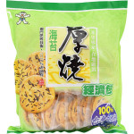 Want Want Seaweed Rice Cracker 350g / 旺旺 海苔厚烧 350克