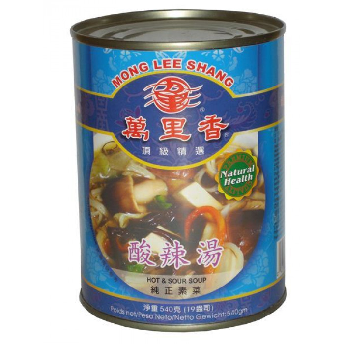 Mong Lee Shang Canned Hot Sour Soup 540g / 万里香 酸辣汤 540克