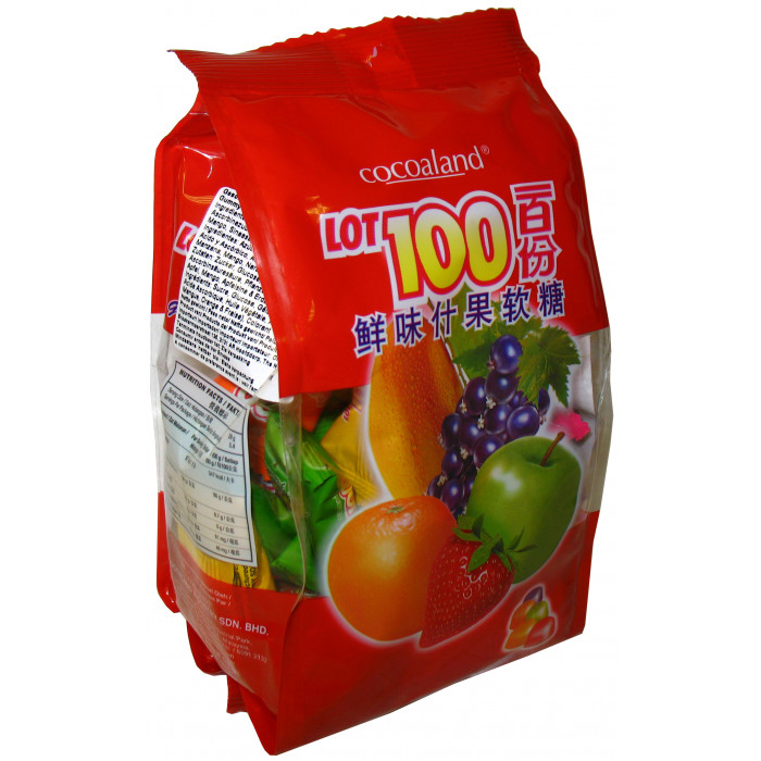 Cocoaland Assorted Gummy Candy 150g鲜味什果软糖