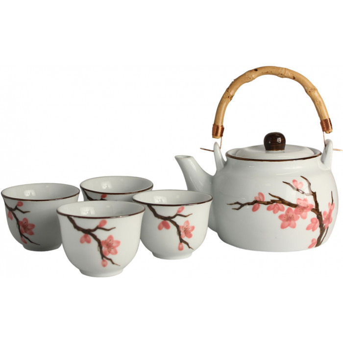 Thee Set 5 Delig Peach Blossom