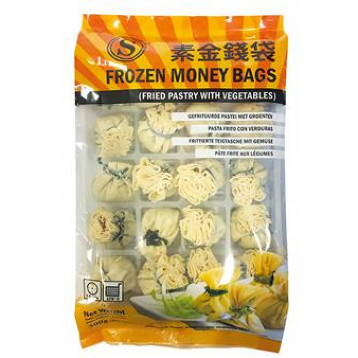 Tsing Tao Frozen Money Bags with Vegetable 20x15g