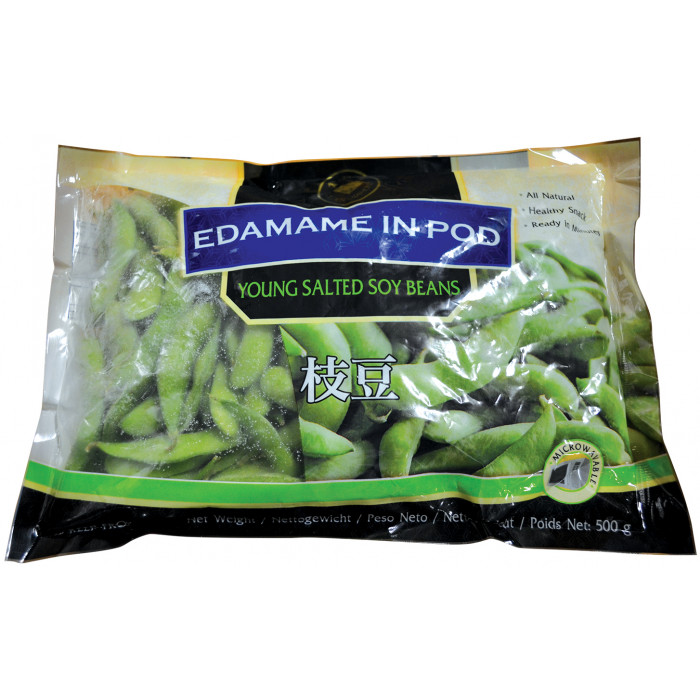 Golden Diamond Frozen Young Salted Soy Beans Edamame 500g 枝豆