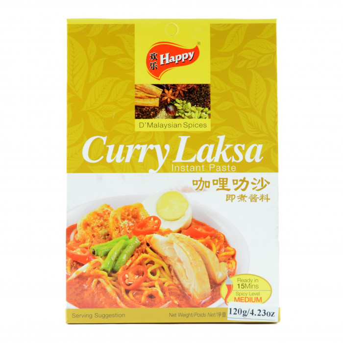 Happy Curry Laksa Instant Paste 120g