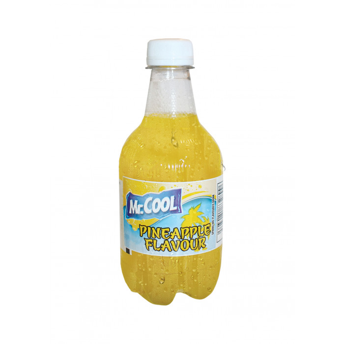 Mr. Cool Sparkling Drink Pineapple Flavour 355ml / 菠萝味汽水 355毫升