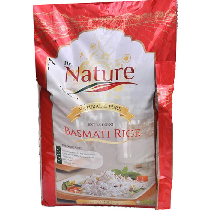 Dr Nature Basmati Rice (extra Long)20kg / 印度长米 20kg