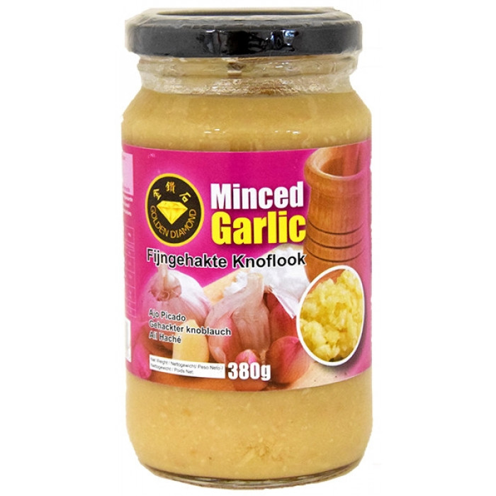 Golden Diamond Minced Garlic Paste 380g