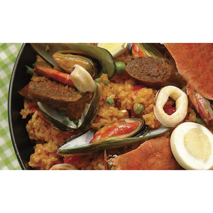 Paella Filipina: Spanish Rice In Filipino Style