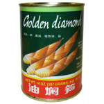 Golden Diamond Braised Bamboo Shoots 397g 浙江油燜筍