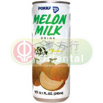 Pokka Melon Milk Drink 粒粒蜜瓜汁 240ml