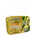 Brunswick Sardines In Soya Oil 106g / 油浸沙丁鱼罐头 106克
