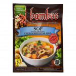 Bamboe Bumbu Sop (Instant Spices For Chicken/Beef/Oxtail Soup) 49g