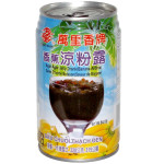 MLS Grass Jelly Drank Bananendmaak 320g / 万里香 香蕉凉粉露 320克
