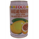 Foco Mango & Passion Fruit Juice Drink 350ml / 福口芒果百香果汁 350ml