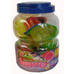 Mong Lee Shang Fruity Jelly With Coconut Assorted 1328g 万里香椰粒果冻