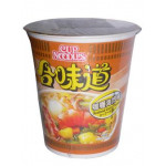 Nissin Cup Instant Noodle Seafood Curry 75g 出前一丁咖喱海鲜杯面