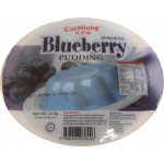 Corniche Blueberry Pudding With Nata De Coco 410g / 蓝莓布丁 410克