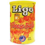 Ligo Cheese Flavored Balls 85G / 膨化芝士球 85克