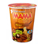 Mama Instant Cup Noodles Beef Flav. 70g