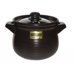 KinKou Earthen Pot Black 6.2Ltr日本黑色瓦煲