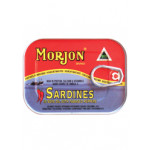 Morjon Sardines In Soya Oil With Tabasco Peppers 120g