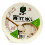 Bibigo Cooked White Rice 210g / 韩国即食白饭 210g