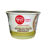 CJ Instant White Rice with Soybean Paste Bibimbap 280g / 韩国即食豆酱汤饭 280克