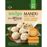 CJ Bibigo Steamed Dumplings Chicken & Vegetables 560g  速冻韩国青菜鸡肉包