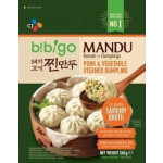 CJ Bibigo Steamed Dumplings Pork & Vegetables 560g / 速冻韩国青菜猪肉包