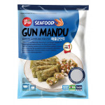 All Groo Seafood Gun Mandu Korean Dumpling For Fry 540g / All Groo 韩国海鲜馅饺子 540g