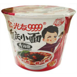 GUANG YOU Instant Noodle Chongqing Hot & Sour Flav.Bowl 110g / 光友重庆小面酸辣面红薯方便面 110g