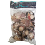 Aqua Delight Half Shell Scallops 10/20 800g / 急冻扇贝带子 800克