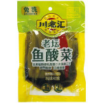 CHUAN LAO HUI Pickled Mustard With Chilli 400g / 川老汇老坛鱼酸菜 400g