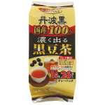 Osaka Gyokuroen Black Soy Bean Tea Bag 156g / 日本黑豆茶 156克