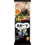 NISSIN Demae Ramen Bar Noodle Black Garlic Oil Tonkotsu 174g / 日清 出前一丁黑蒜油猪骨棒丁面 174g