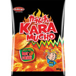 Koikeya Karumucho Potato Chips Hot Chilli Flav. 60g / 日式辣味薯片 60g