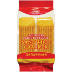 FOUR SEAS Peanut Flavour Sandwich Cracker 156g / 四洲 花生味夹心饼干