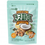 Foodzone Cocopie Brown Rice Flav. 70g / 韩式糙米坚果谷物派 70克