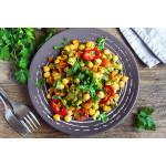 Asian-Style Chickpea Salad with Hoisin Dressing
