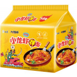 Baixiang Instant Noodles With Crawfish Flav. 113gx5 / 白象 小龙虾拌面 5袋装