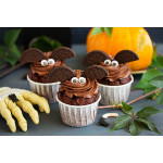 Bat Cupcakes For Halloween