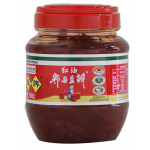 Greenfood Broad Bean Sauce With Chili Oil 500g / 红油豆瓣