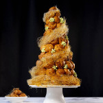 Croquembouche with Matcha Filling