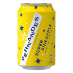 Fernandes Super Pineapple Drink (geel) 330ml