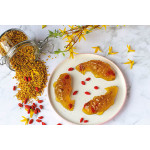 Tea Jelly With Goji Berries And Osmanthus Flowers
