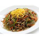 Japchae: Korean Sweet Potato Vermicelli With Vegetables