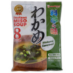 Marukome Instant Miso Soup Wakame Seaweed 156g / 料亭之味 速食味增汤