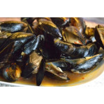 Mussels In Curry Laksa And Coconut Milk