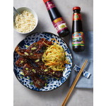 Shanghai Sweet & Sour Spareribs with Asian Coleslaw